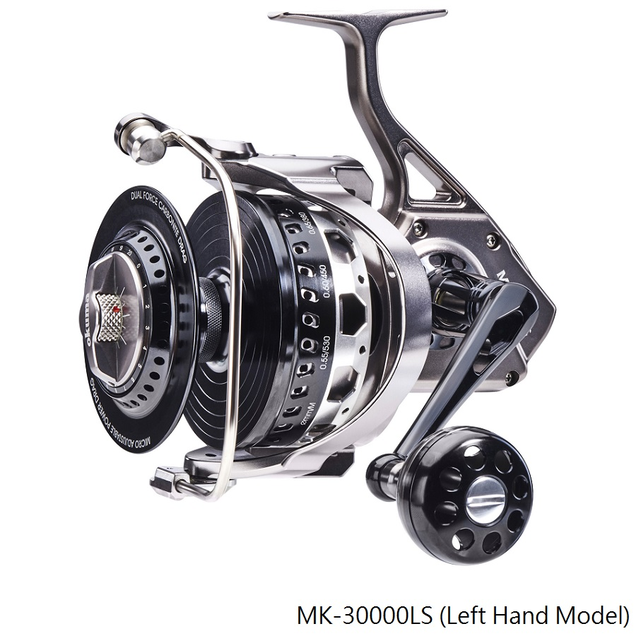 Makaira Spinning Reel - Carretel Makaira - Okuma Makaira Spinning Reel-For big game fishing-Construído a partir dos melhores e mais fortes materiais