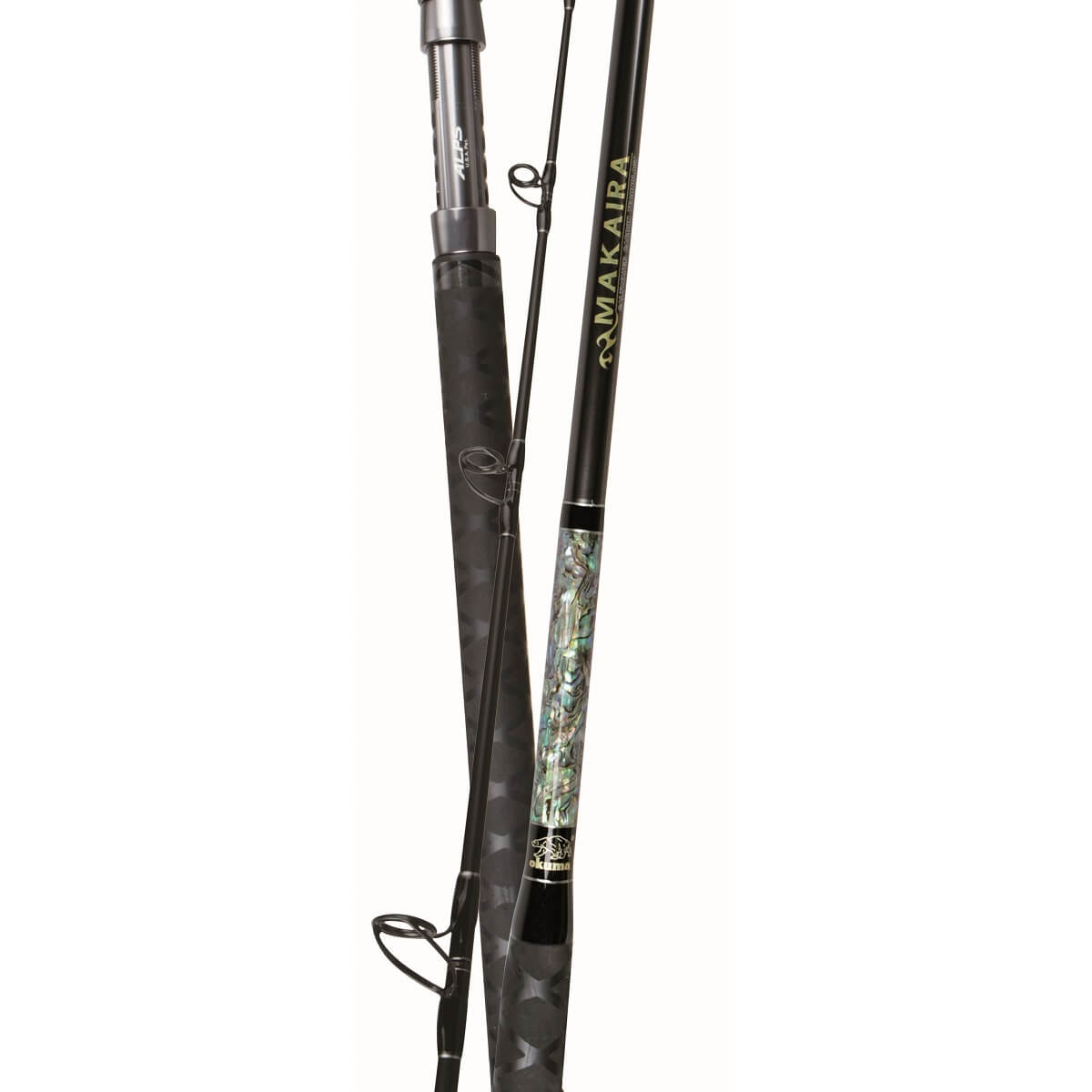 Makaira Saltwater - Okuma Makaira Saltwater Rod-Carbon-Rutenrohling- technology ALPS Deep Press 316-Führungsrahmen aus rostfreiem Stahl - Einzigartiges integriertes Butt-Cap-Design