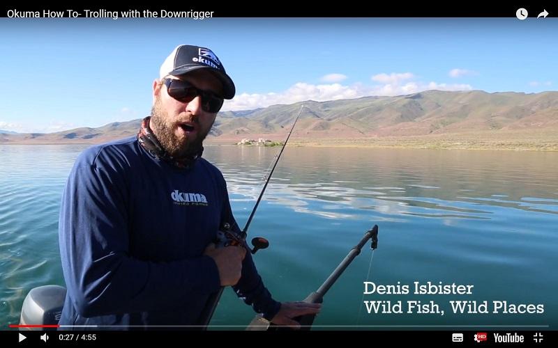 Trolling with the Downrigger | OKUMA FISHING TACKLE CO , LTD