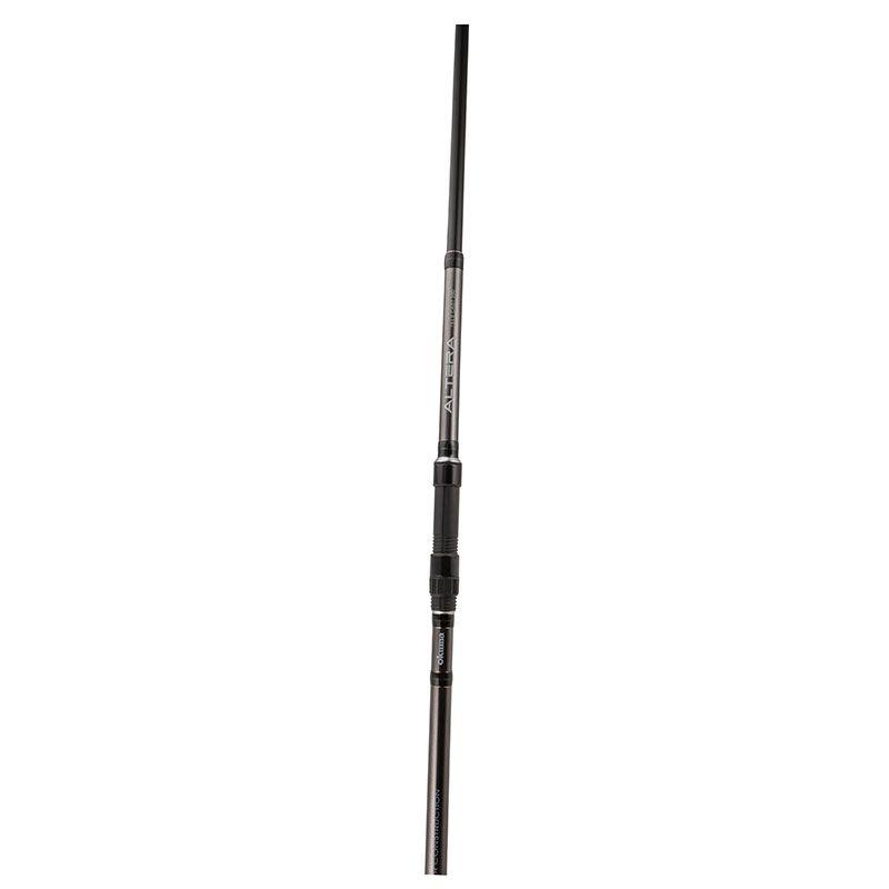 Altera Tele Cast Rod - Okuma Altera Tele Cast Rod -Light weight 24T carbon blank-Matt gunsmoke frame SIC guides-Okuma graphite reel seat