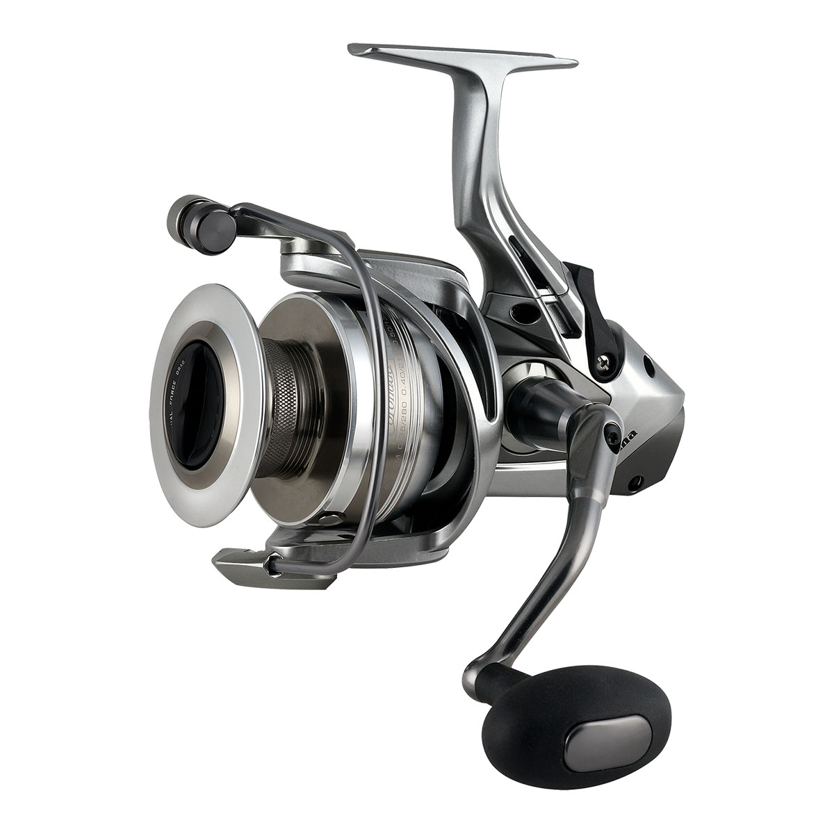 Coronado CDX Baitfeeder Spinning Reel - Okuma Coronado CDX Baitfeeder Spinning Reel-On/off auto trip bait feeding system -Precision Dual Force Drag system-Carbonite drag washers-Slow oscillation system