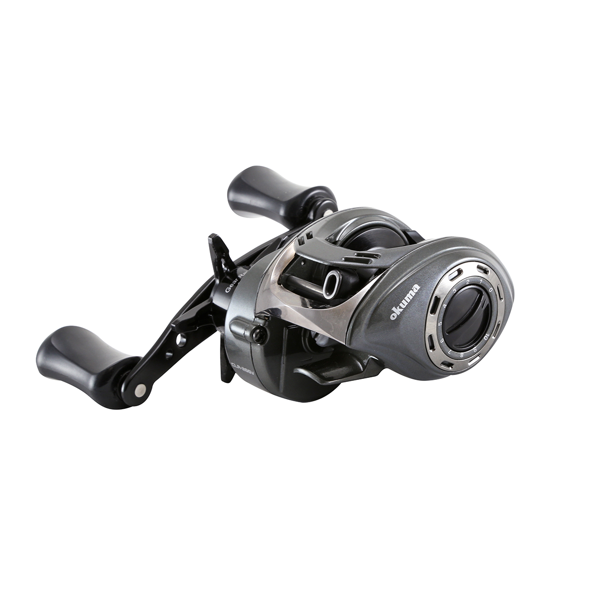 Cerros Low Profile Baitcast Reel - Okuma Cerros Low Profile Baitcast Reel-Alumilite frame construction-9BB + 1RB bearings drive system-Quick-Set anti-reverse roller bearing