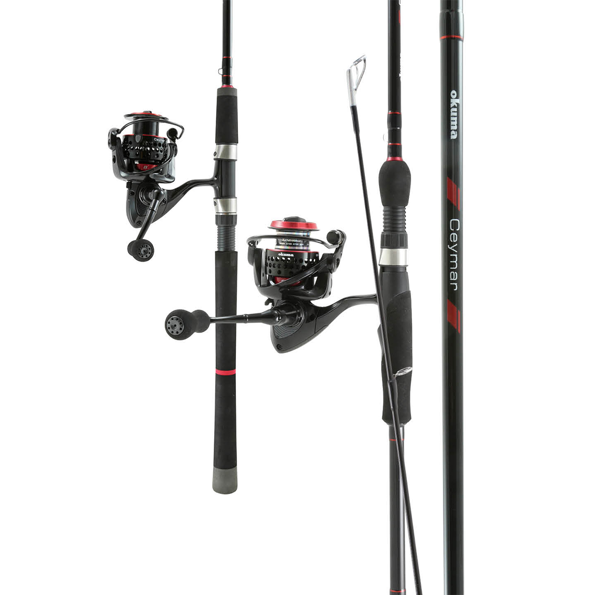 Ceymar Spinning Combos - Okuma Ceymar Spinning Combos-UFR technology increases rod's lifting power and maximum strength-Quick-Set anti-reverse roller bearing system