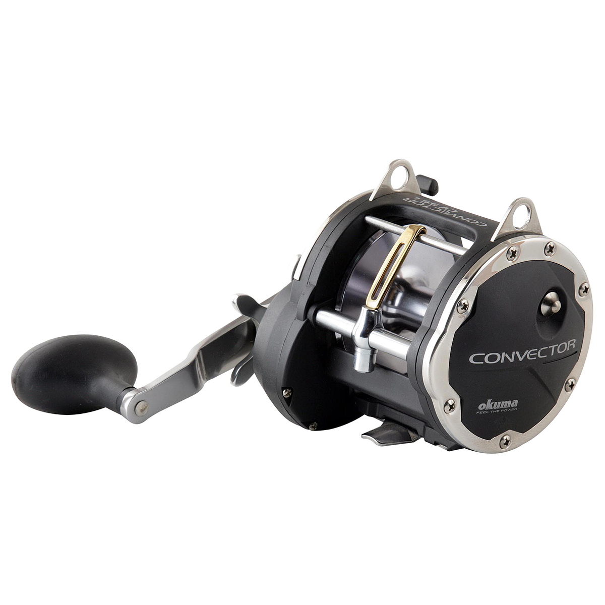 Convector Star Drag Reel - Okuma Convector Star Drag Reel-Speed LOC pinion gear system -Okuma's patented mechanical stabilizing system