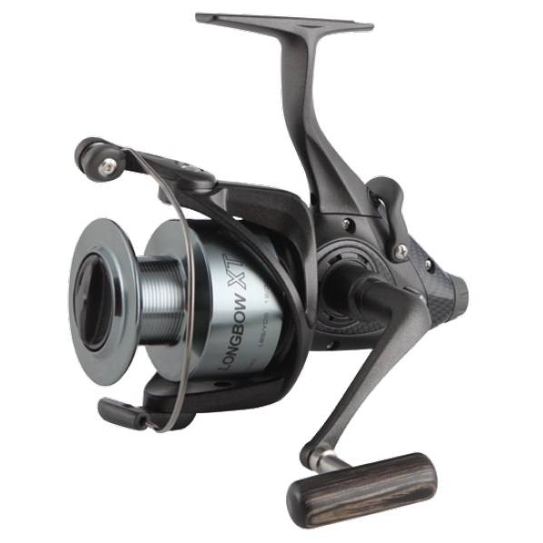 Moulinet à lancer léger Longbow XT Baitfeeder - Okuma Longbow XT Baitfeeder Spinning Reel-Carp fishing -On / off auto trip beed feeding system -Precision Elliptical Gearing system-LCS line control spool