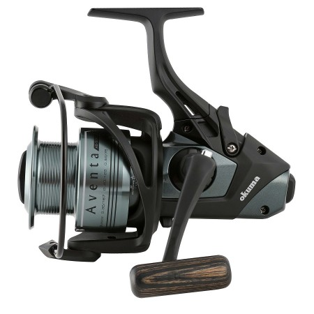 Aventa Baitfeeder Spinning Reel - Okuma Aventa Baitfeeder Spinning Reel-On/off auto trip bait feeding system -Slow Oscillation System-Carbonite drag washers-Slow oscillation system