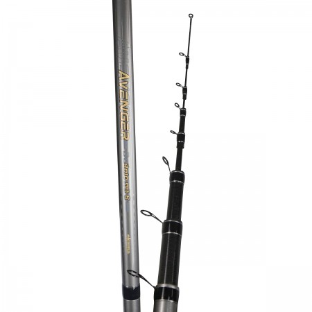 Avenger Bolo Rod - Okuma Avenger Bolo Rod-High modulus carbon blank construction-Seaguide Saltwater resistant guides with SIC inserts-Protected in a quality guide cover