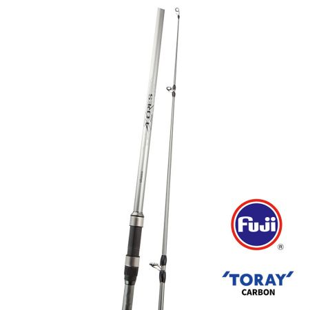 Azores II Rod - Azores II Rod  -40T high modulus Toray carbon blank construction-OC-9 carbon outer wrap and solid carbon tip