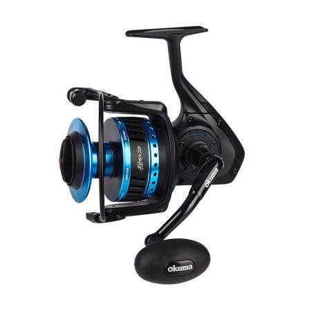Azores XP Spinning Reel (2021 NEW) - Okuma Azores XP Spinning Reel- Rigid diecast aluminum body, sideplate and rotor- multi-disc, carbonite and felt drag washers for DFD- Corrosion-resistant, high density gearing