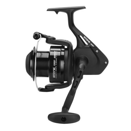Atomic Carp Spinning Reel - Atomic Carp Spinning Reel  -Suitable for carp fishing-Corrosion resistant graphite body and rotor-Multi-stop anti-reverse system