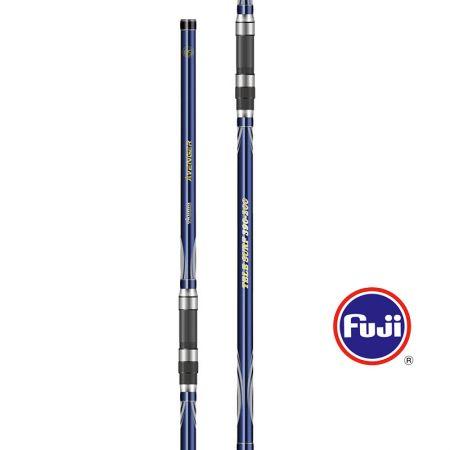 Avenger Tele Surf Rod - Okuma Avenger Tele Surf Rod-Powerful 24T carbon blank-Strong guide frame with super hard titanium oxide insert-FUJI reel seat and comfortable handle design