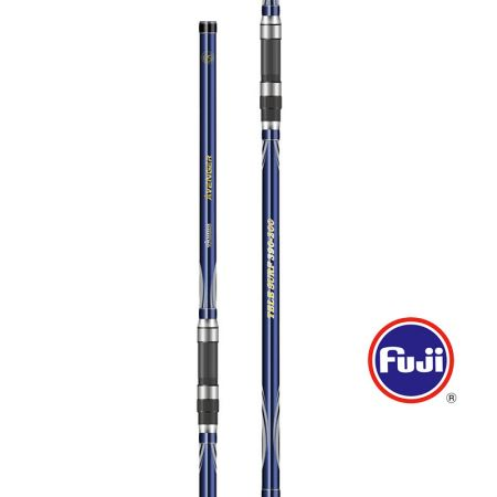 Avenger Tele Surf Rod - Okuma Avenger Tele Surf Rod-Powerful 24T carbon blank-Strong guide frame with super hard titanium oxide insert-FUJI reel seat and comfortable handle design