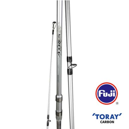 Azores Tele Surf Rod - Okuma Azores Tele Surf Rod-40T high modulus Toray carbon blank construction-OC-9 carbon outer wrap and solid carbon tip