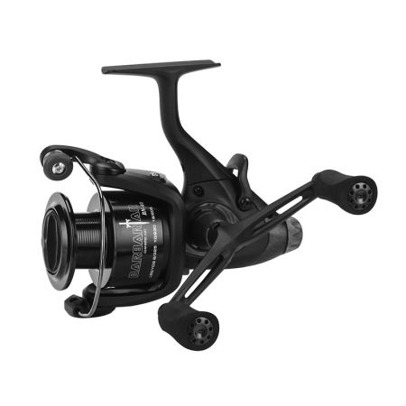 بكرة الغزل Baitfeeder البربرية - Okuma Barbarian Baitfeeder Spinning Reel-Carp Fishing -On / Off auto trip bait feed system system - Machined بكرة الألومنيوم