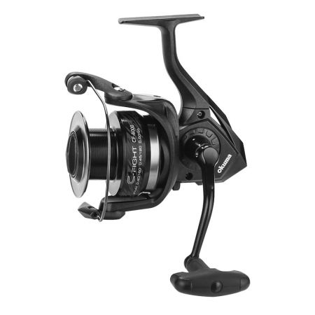 C-Fight Spinning Reel - Okuma C-Fight Spinning Reel-Corrosion-resistant graphite body and rotor-Cyclonic Flow Rotor-Rigid metal handle
