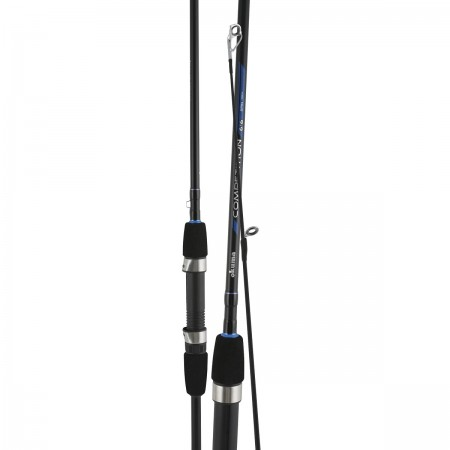 Competition Rod - Okuma Competition Rod-Graphite composite rod blank construction-Stainless steel hooded reel seat-Split grip butt design for reduced weight and improved balance
