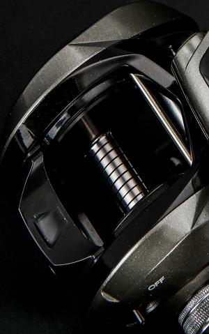 A6061-T6 Aluminio mecanizado, Carretel anodizado