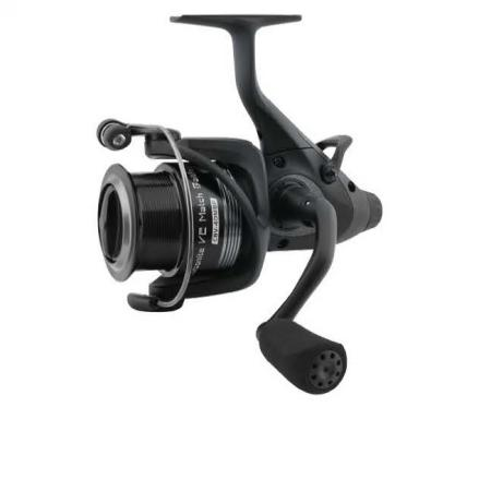 Carbonite V2 Match Baitfeeder Spinning Reel - Okuma Carbonite V2 Match Baitfeeder Spinning Reel-On/off auto trip bait feeding system -Cyclonic Flow Rotor- Shallow Aluminum spool