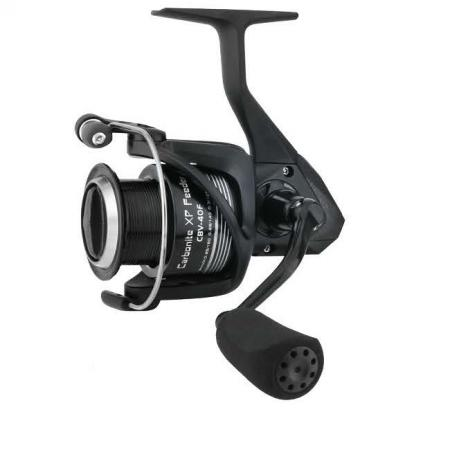 Carbonite XP Feeder Reel - Okuma Carbonite XP Feeder Reel-Precision Elliptical Gearing System-Cyclonic Flow Rotor-Rigid metal handle with EVA knob