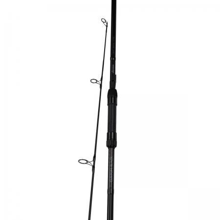 Custom Black Carp Rod - Okuma Custom Black Carp Rod-24T High Modulus carbon blank-SIC Guides-Heavy Duty Okuma graphite reel seat