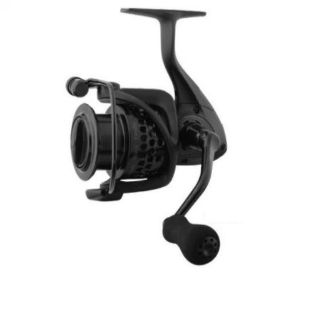 Custom Black Feeder Reel (2019 NEW) - Okuma Custom Black Feeder Reel (2019 NEW)-Precision Elliptical Gearing System-Cyclonic Flow Rotor-Aluminum regular spare spool-Rigid metal handle with EVA knob
