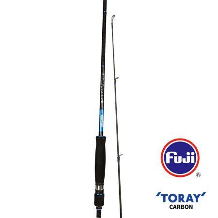 EGI Sniper Rod (2021 NEW) - Okuma EGI Sniper Rod- Toray 46T carbon blank, light weight, sensitive and balanced- Fuji Titanium K-guides with SIC inserts- Fuji IPS reel seat with the light EVA for handling good feeling