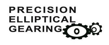 Sistema de engrenagens elípticas de precisão