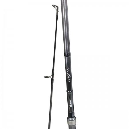 EPIX V2 Carp Rod - Okuma EPIX V2 Carp Rod-Fantastic blank construction with SIC guides-Ergo grip construction for extra long casting-Including a spod rod