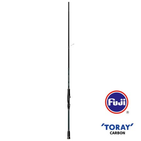 Epixor EGI Rod (2020 baru) - Epixor EGI Rod (2020 baru) -40 + 46T Toray ultra-light carbon blank construction-Fuji K-concept tangle free stainless steel guide-Ergonomic shaped, split EVA handle design to reduce weight