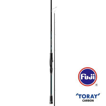 Epixor EGI Rod (2021 NEW) - Okuma EGI Sniper Rod- 40+46T Toray ultra-light carbon blank construction- Fuji K-concept tangle free stainless steel guides- Fuji Alconite inserts reduce friction- Fuji VSS reel seat