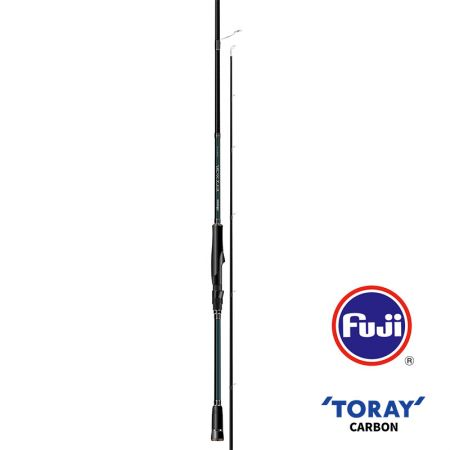 Epixor EGI Rod (2021 NEW) - Okuma EGI Sniper Rod- 40+46T Toray ultra-light carbon blank construction- Fuji K-concept tangle free stainless steel guides- Fuji Alconite inserts reduce friction- Fuji VSS reel seat