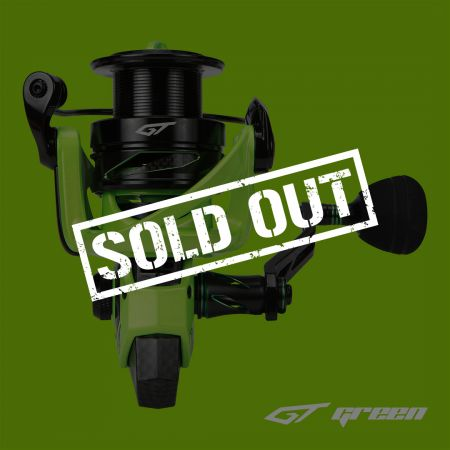 GT Spinning Reel (Limited Edition)-GT Green - GT Spinning Reel (Limited Edition)