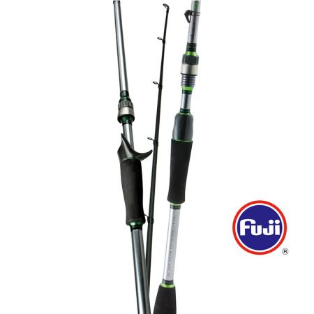 Helios Rod - Okuma Helios Rod-Fuji EZ Moveable Hook Keeper-Two different size O-rings to accommodate different rod diameters