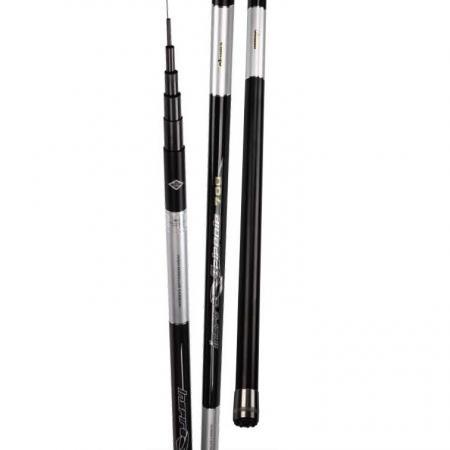 Inspira Telepole Rod - Okuma Inspira Telepole Rod-High Modulus carbon construction-Lightweight carbon blanks-High quality Alu screwed end cap with rubber cushion for anti-slip