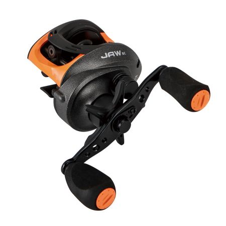 JAW Low Profile Baitcast Reel - JAW Low Profile Baitcast Reel -A6061-T6 machined aluminum, anodized U-shaped spool-External adjustable magnetic cast control system-Aluminum handle with EVA handle knobs