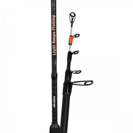 Light Range Fishing Tele Spin Rod - Okuma Light Range Fishing Tele Spin Rod-Light weight 24T carbon material-UFR® tip strength-Japanese EVA split handle construction
