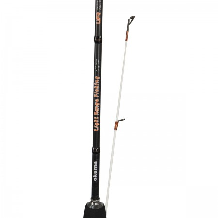 Light Range Fishing Rod - Okuma Light Range Fishing Rod-Light weight 24T carbon material-UFR® tip strength-Japanese EVA split handle construction