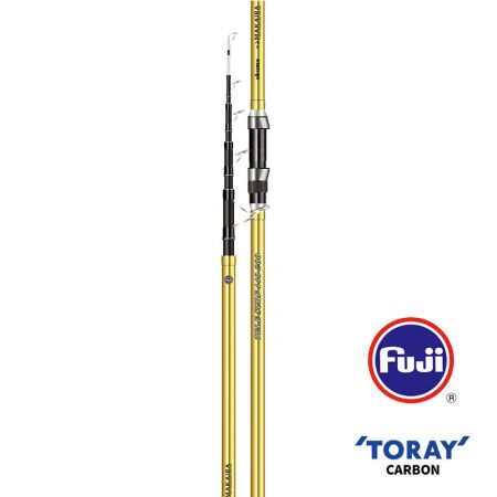 Makaira Surf Rod - Okuma Makaira Surf Rod-40T Toray high modulus carbon material, slim, light and ultra-sensitive blanks construction-Durable and comfortable special handle design