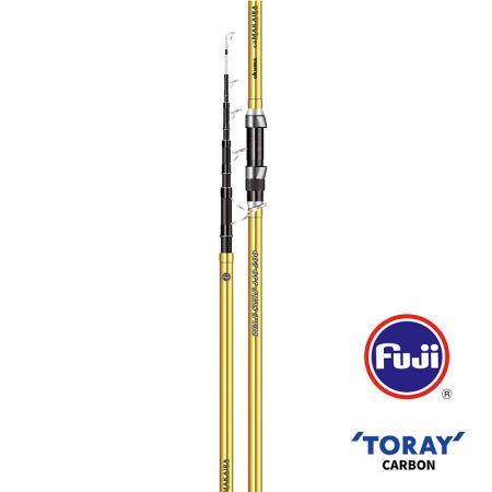 Makaira Surf Rod - Okuma Makaira Surf Rod-40T Toray high modulus carbon material, slim, light and ultra-sensitive blanks construction-Durable and comfortable special handle design