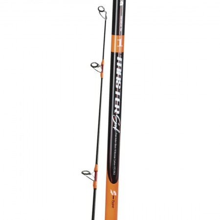 Master Surf Rod - Okuma Master Surf Rod-30T Japanese carbon material and faster action blank construction-Seaguide deep-press guide frames with SIC inserts-ALPS Deluxe Reel seat