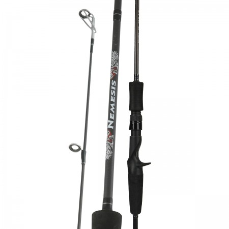 Nemesis Rod - Okuma Nemesis Rod-Available for casting rods, spinning rods and a 4-pcs travel design rod-High modulus ultra-light carbon blank construction
