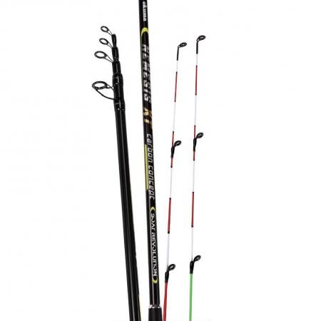 Nemesis XT Rods - Okuma Nemesis XT Rods-Ultra-responsive 24-carbon blank construction with two solid tips-Quality stainless steel frame guides with saltwater treatment