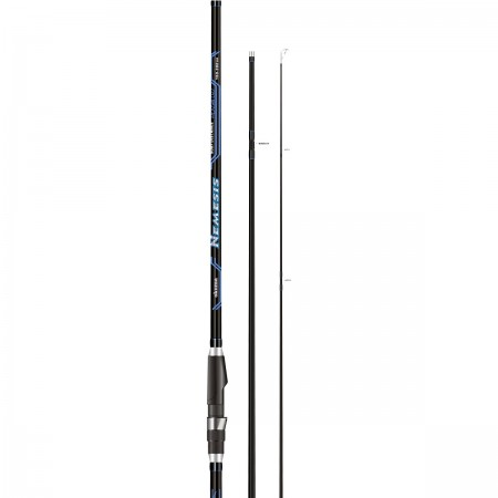 Nemesis Surf Rod - Okuma Nemesis Surf Rod-Ultra-responsive 24-carbon blank construction with solid tip-Quality stainless steel frame guides-Strong graphite reel seats