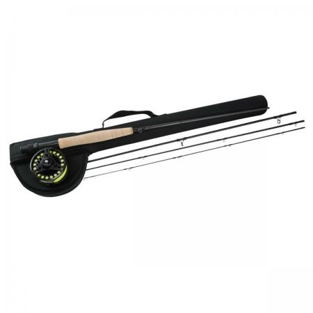 Nomad Xpress Fly Combo - Okuma Nomad Xpress Fly Combo-24/30-Ton carbon, ultra-sensitive and responsive blank construction-4-pcs rod blank construction for easy transportation