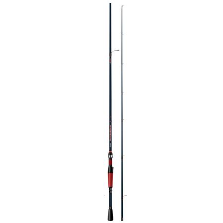 Red v1 Rod - Okuma Red v1 Rod -High modulus ultra-sensitive and responsive carbon blank construction-Durable Polymer and EVA split grip-Fast tape design for bass rods series