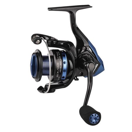 Solaris Spinning Reel (2021 NEW) - Okuma Solaris Spinning Reel- Corrosion-resistant graphite body- metal handle- Aluminum black spool with blue anodizing- 5 ball bearing + 1 roller bearing