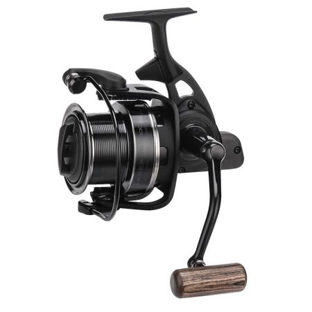 T-Rex Spinning Reel - Okuma T-Rex Spinning Reel -Solid Reel System-Worm shaft transmission system-Line Control Spool for longer casting distance-Forged aluminum handle with wooden knob