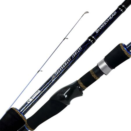 TCS Rod - Okuma TCS Rod-Designed for tournament concept fishing-Ultra sensitive 30T carbon blank construction-EVA split grip and EVA foregrip for reduced weight and feel