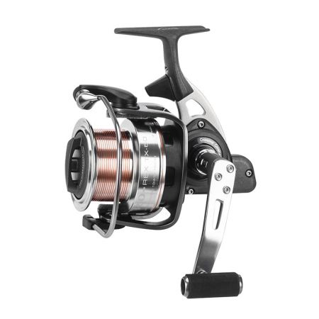 Trio Rex Spinning Reel - Okuma Trio Rex Spinning Reel-Long spool for distance casting-Crossover Construction aluminum body and rotor