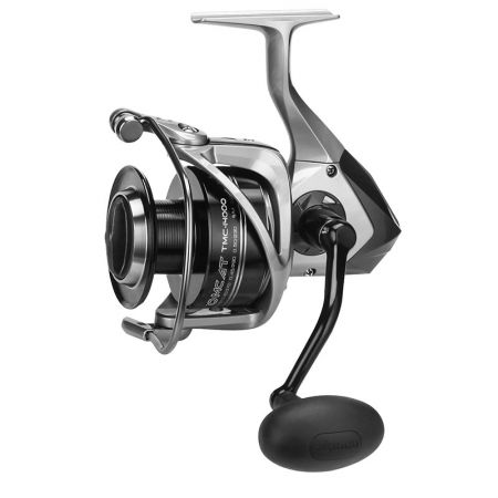 Tomcat Spinning Reel - Tomcat Spinning Reel-Corrosion-resistant graphite body-Precision elliptical oscillation-Dual Force Drag on size 14000